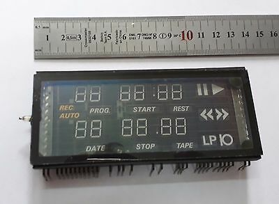 Used BIG VFD display Futaba 16-MT-33ZK from Grundig VS 220,VFD nixie clock era