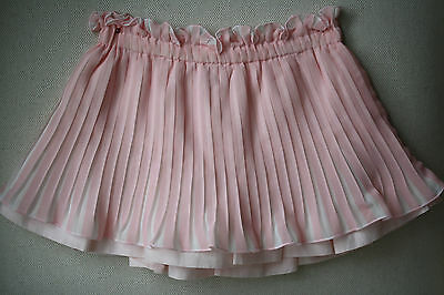 Monnalisa Baby Pink Pleated Skirt 2 Years