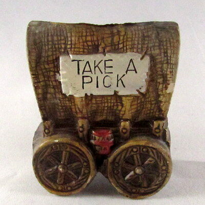 Covered Wagon Toothpick Holder
