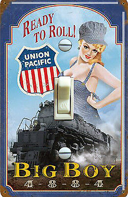 Union Pacific Pin Up Girl Vintage Poster Decorative Switch Plate *FREE SHIPPING*