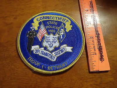 Connecticut State Police Troop I Bethany