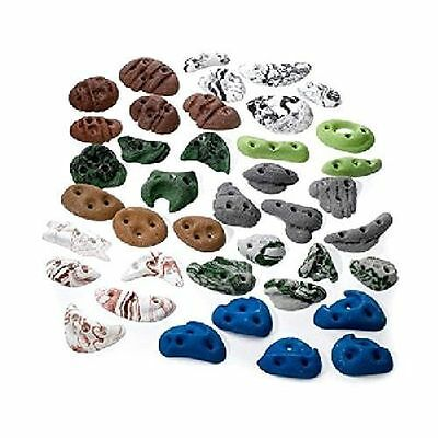 40 Pack Metolius Greatest Chips Screw kids Rock Climbing wall Assorted Holds