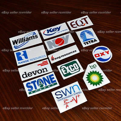 gasser oilfield hardhat sticker decal pack drilling gas oil