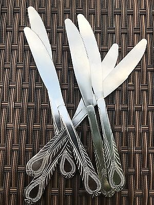 6 X Stainless Steel Cutlery Dining Room Dinner TABLE KNIFE Butter Quality