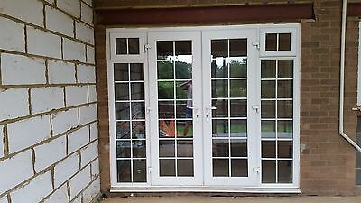 External upvc double glazed french patio doors frame for External french doors and frame