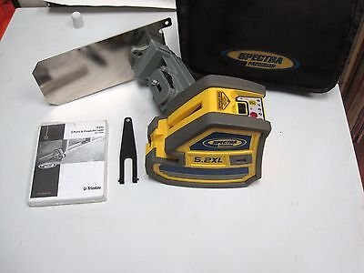 Trimble / Spectra Precision Model 5.2XL Cross Hair and 5 Point Laser Level LQQK