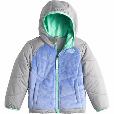 NWT The North Face Reversible Perseus Jacket Toddler Girls Grapemist Blue Sz. 3T
