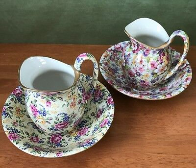 James Kent Pitcher Vase or Bowl in Du Barry or Ruth Kent Chintz China NEW