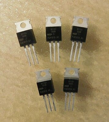 5 Pcs * BT151-500R 7.5A 500V One-way thyristor