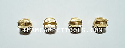 """Carpet Cleaning Wand Replacement Brass 1/8"""" V-Jets 11002 Vee Jets (4 count)"""