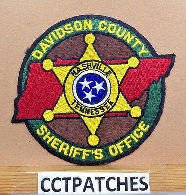 Davidson County Nashville, Tennessee Sheriff (Police) Shoulder Patch Tn