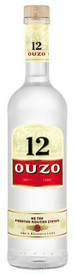 Ouzo 12, The Traditional Greek Spirit, 38 % Vol.Alk. - 700 ml