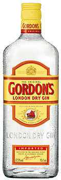 Gordon's London Dry Gin, 37,5 % Vol.Alk. - 700 ml