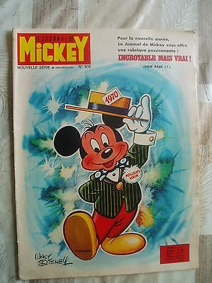 MICKEY no 916-01/1970-RC DIVERS-PUB.CARAMBAR-.VOIR