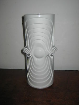 Kpm Royal Porzellan Swing Vase Op Art  Eye 1970S