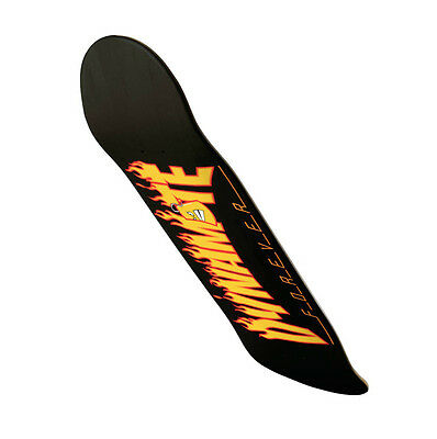 Dynamite Forever Skateboard Deck Thrashed Black New FREE GRIP & FREE POST