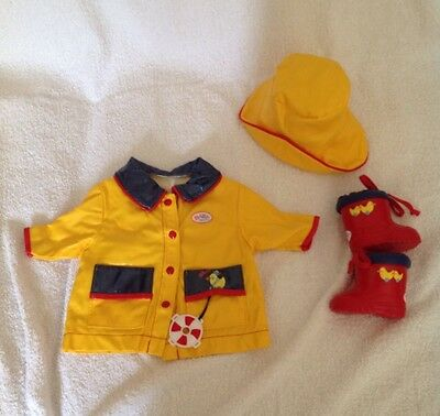 Baby Born Doll Raincoat Hat Amp Wellies Outfit Clothes