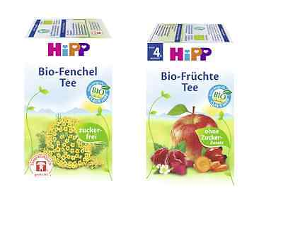 HIPP Tea Healthy drink for babies 20 bags TOP DEAL!