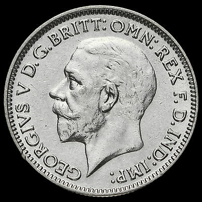 1931 George V Silver Sixpence, GVF+