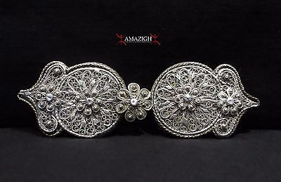 Antique Fine Silver Belt Buckles - 19th century - Balkan Region