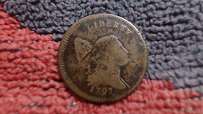 1797 C-3a   LIBERTY CAP HALF CENT.....PLAIN EDGE.....STRONG DATE