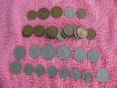 38 Coins from Zambia and Zimbabwe