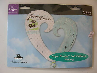 Palloncino Super Shape Cuore Aperto Forever Always