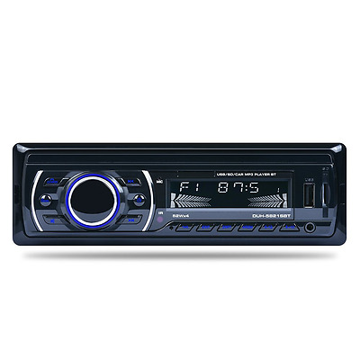 Becoler Car Stereo Audio in-dash Single Din FM Player Aux input receiver built-i