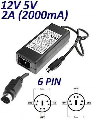 Cargador Corriente 12V Reemplazo Disco Duro WD My Cloud EX2 Ultra Recambio Replacement