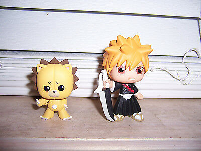 Bleach KON & ICHIGO Shonen Jump Funko Best Of Anime Series 2 Vinyl Mini Figures