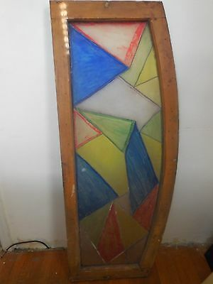 Stained lead Glass  window