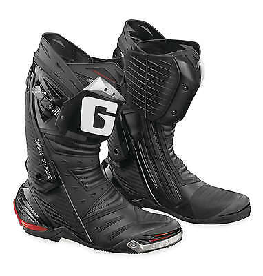 Gaerne GP1 Leather Motorcycle Street/Race Riding Boots [Black, Size 12]