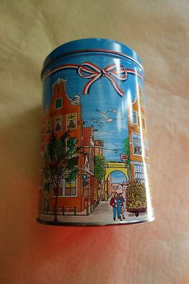 Collectible Davelaar Jodenkoeken sinds 1883 Cookie Metal Tin Dutch Netherlands