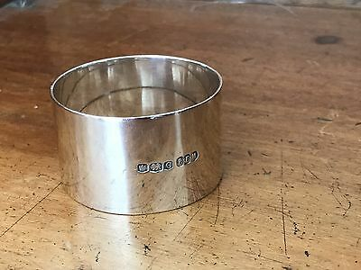 Napkin Ring - maker R.F. Mosley & Co Ltd Sheffield Great Britain - sterling