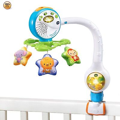 VTech Mobile Baby Toddler Infant Crib Toy Musical Instrument Tool Kids Game Gift