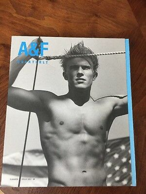 Abercrombie and Fitch Quarterly Summer 2001 A&F Bruce Weber Great Shape