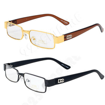 9032 DG Eyewear Clear Lens Small Frame Fashion Designer Eye Glasses