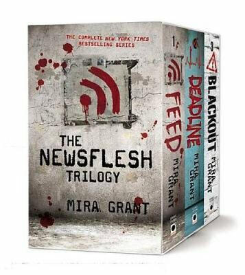The Newsflesh Trilogy Blackout/Deadline/Feed by Mira Grant 9780316225076