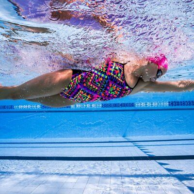 NEW Funkita Ladies Single Strap One Piece - Diamond Devil from Ezi Sports Store