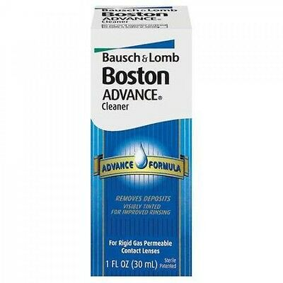Boston Advance Lens Cleaner 30Ml Solution For Rigid Gas Permeable Contact Lenses