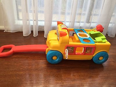 Fisher Price Pull Along School Bus