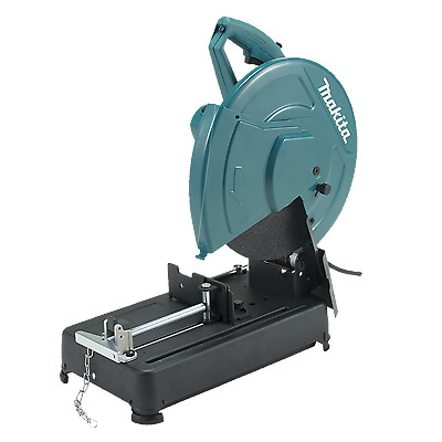 Makita 2200W 355mm Abrasive Metal Steel Cut Off Drop Chop Saw - 3yr Replace Wty