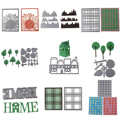 22 Styles Metal Cutting Dies Stencils Embossing Scrapbooking Card Craft