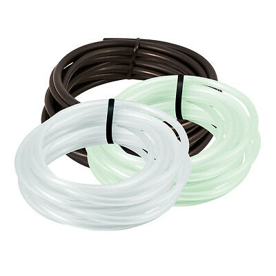 25' Standard Aquarium Silicone Air Line Tubing for Fish Tank Air Pump Hydroponic
