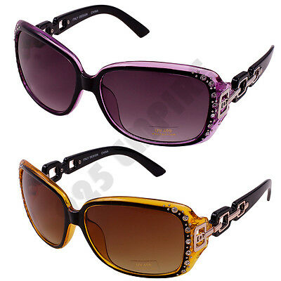 b692f17a6a4 362 DG Eyewear Women  s Rhinestones Oversized Retro Fashion Designer  Sunglasses