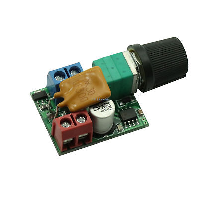 Mini DC 5A Motor PWM Speed Controller 3V-35V Speed Control Switch LED Dimmer A