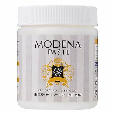 PADICO MODENA PASTE AIR DRY POLYMER CLAY 250 g Resin type modeling paste F/S