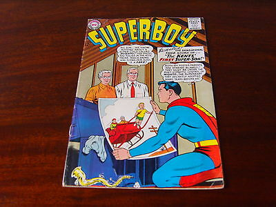 SUPERBOY #108 - THE KENTS FIRST SUPER SON - OCT 1963 - VG/FN - DC COMICS x