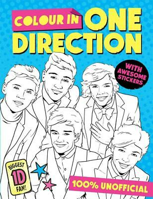 Colour in One Direction! by To Be Announced (English) Paperback Book