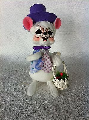 """Nos 2005 Annalee 6"""" Easter Spring Boy Mouse #085005 Nwt"""